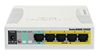 MikroTik RB260GSP Switch-Router CSS106-1G-4P-1S, 5xGE, 1xSFP, PoE in/out, Atheros, SwOS