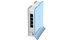 MikroTik RB941-2nD-TC Wireless Router hAP Lite TC, 650MHz, 32MB, 4xFE, 2.4Ghz 802.11b/g/n 2x2 two