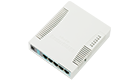MikroTik RB951G-2HND Access Point Soho 2.4GHz 1000mW 802.11b/g/n, 600MHz, 128MB, 5xGE, 1xUSB