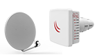 Mikrotik RBLDF-5ND LDF 5Dual chain 5GHz system for long distance links with satellite offset dish