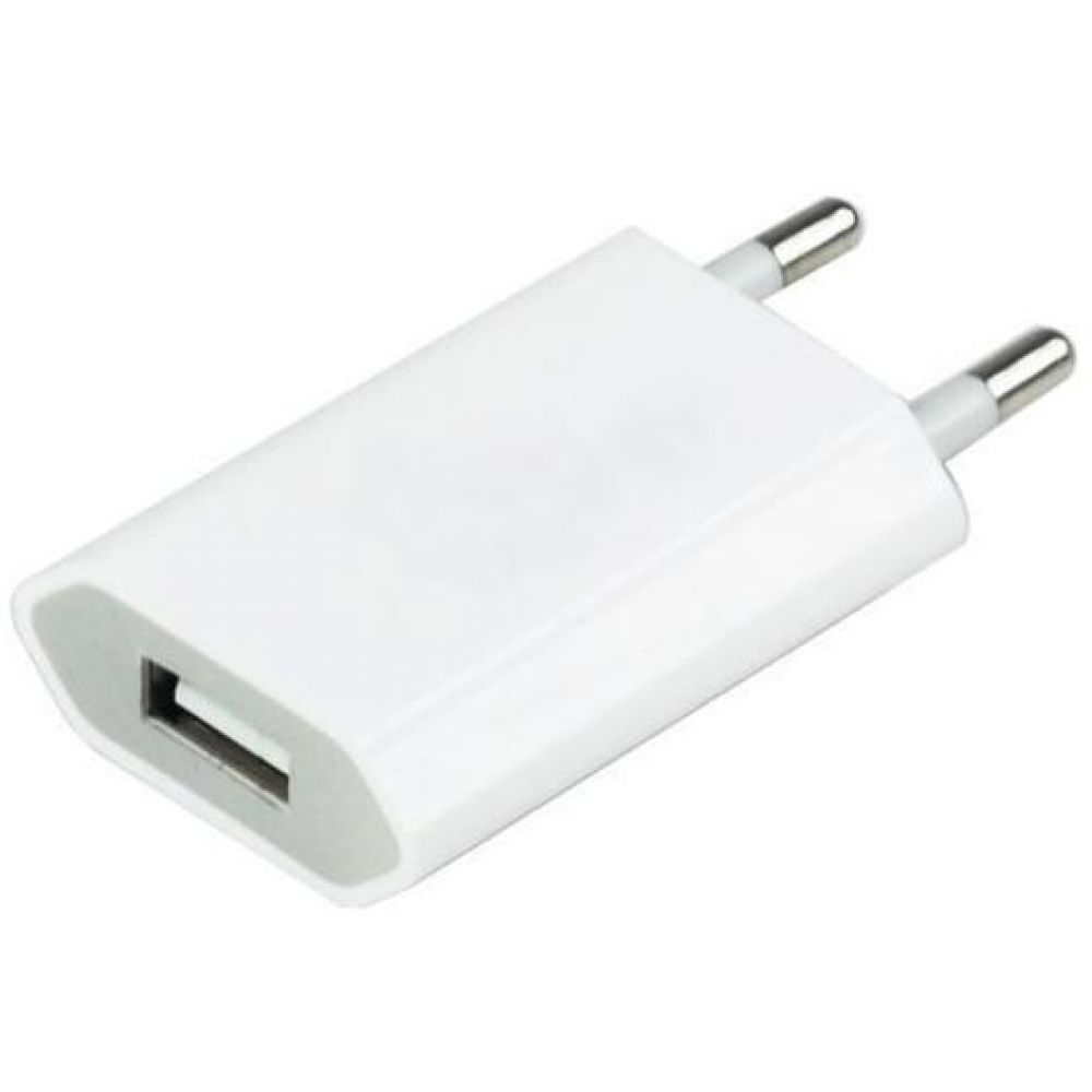 OEM Network charger Travel 220V 5V/1A for iPhone, 1 x USB - 14105