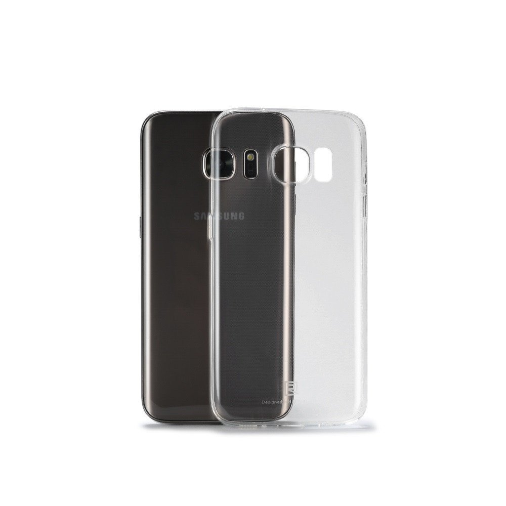 Remax Crystal, Protector for Samsung Galaxy S7, TPU, Slim, Transparent - 51420