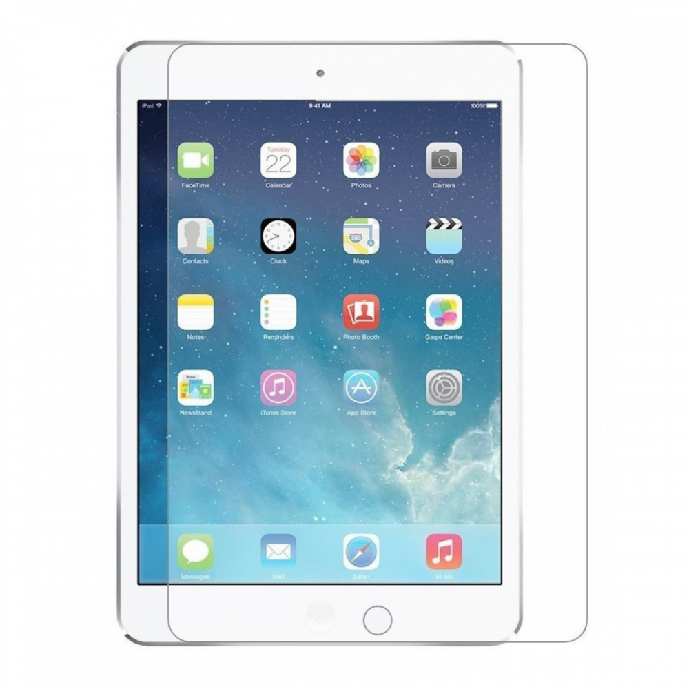 OEM Glass protector,For Apple Ipad 2/3/4, 0.26mm, Transparent - 52231