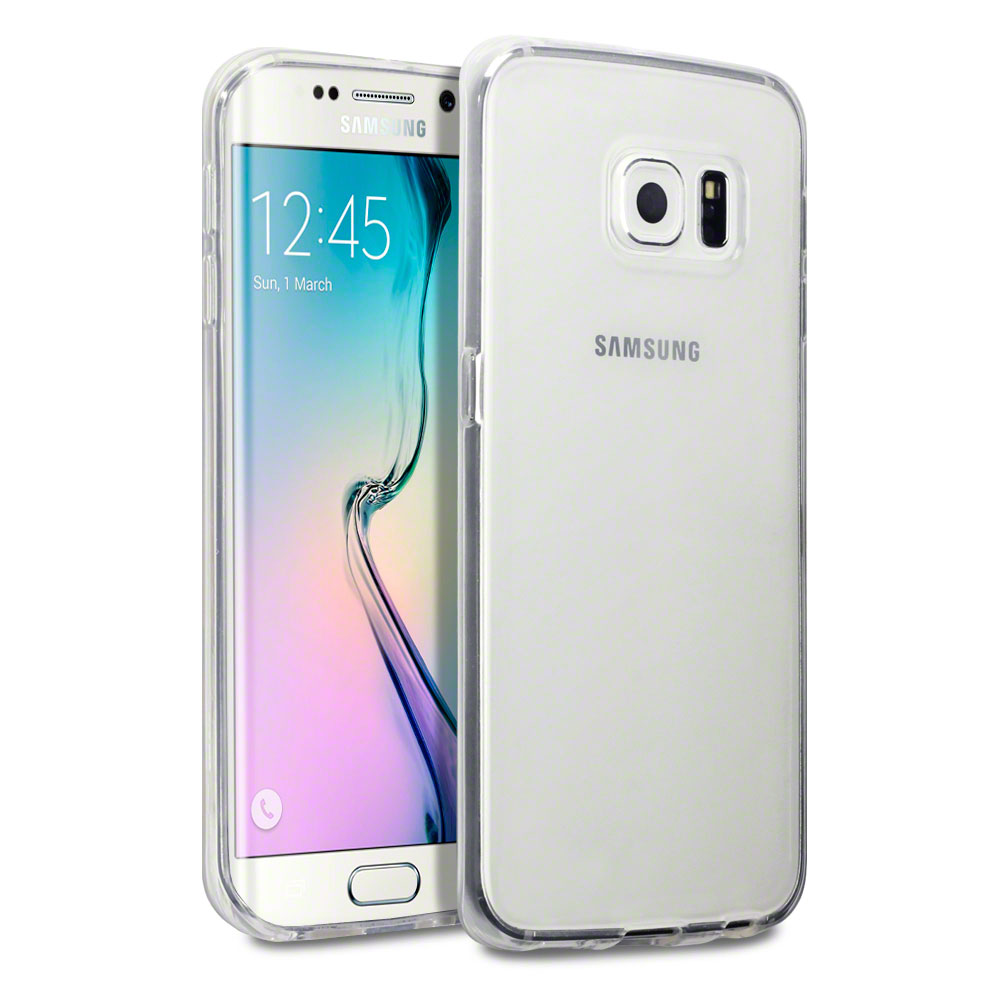 OEM Protector Samsung Galaxy S6 Edge, Silicone, Ultra thin 0.33mm, Transparent - 51324
