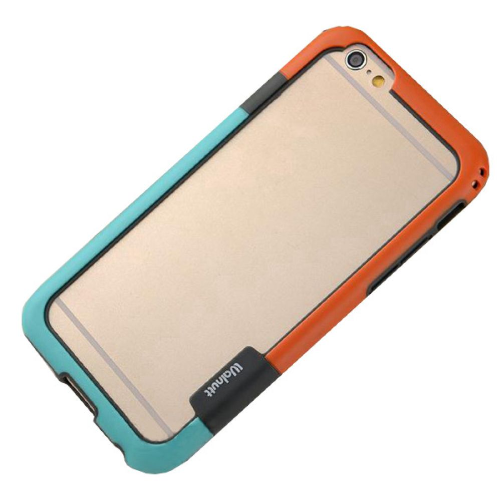 OEM Bumper for iPhone 6/6S, Silicon, Multicolor - 51186