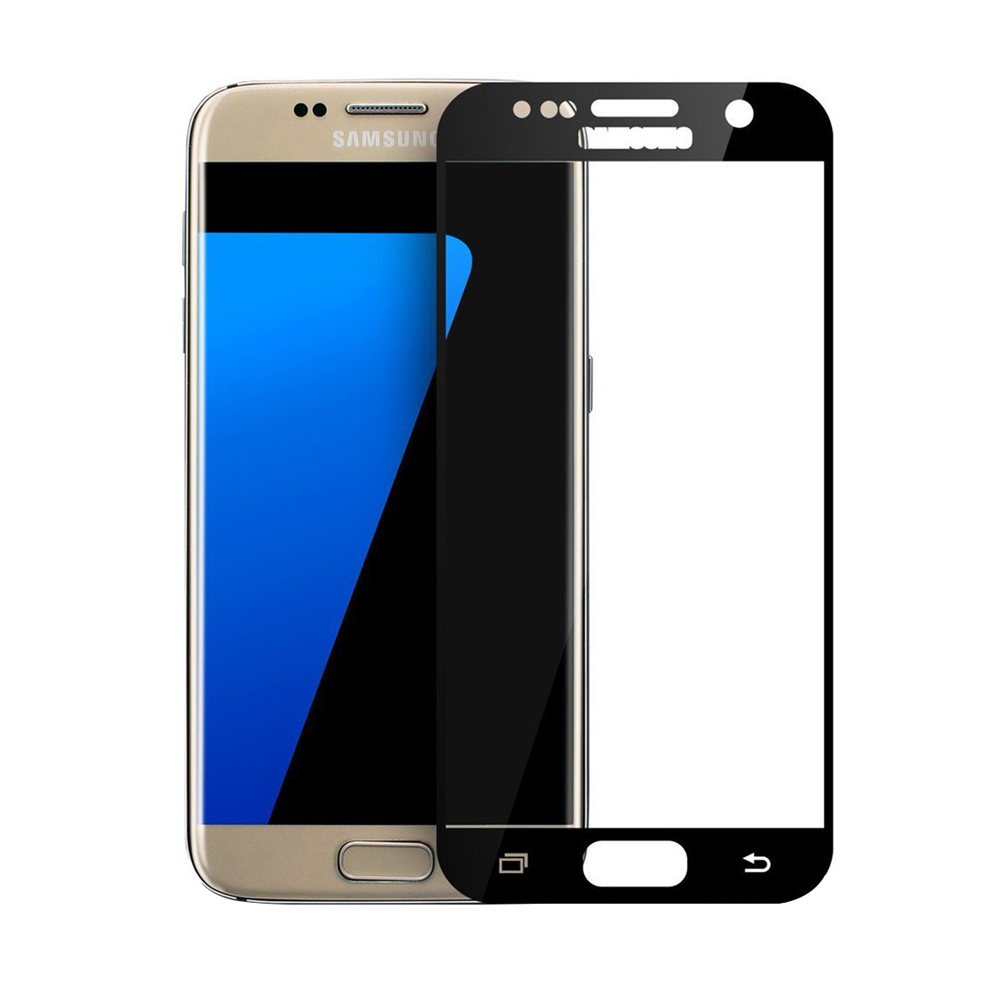 OEM Glass protector Full 3D, for Samsung Galaxy S7, 0,3mm, Black - 52298