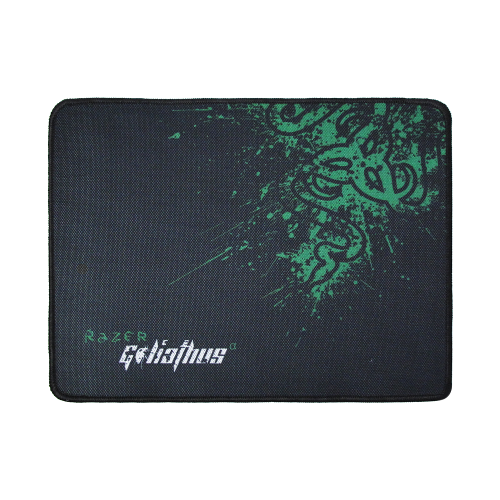OEM Gaming mouse pad, 320 x 240 x 4mm, Black - 17511