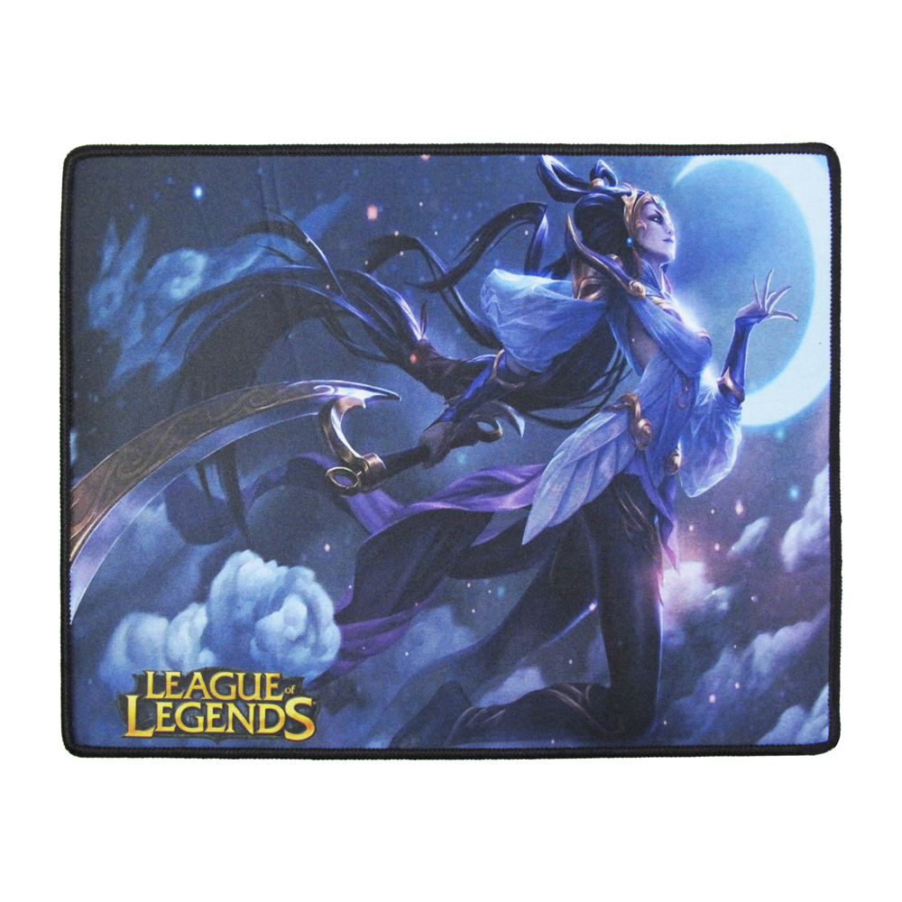 OEM Gaming mouse pad, L-18, 315 x 245 x 4mm, Black - 17509