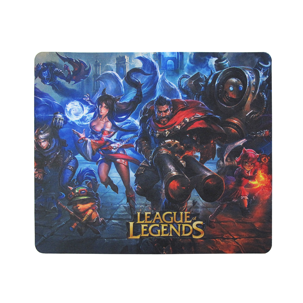 OEM Gaming mouse pad, F2, 240 x 200 x 1mm, Black - 17506