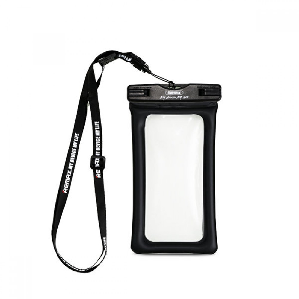 "Remax RT-W2 Plus Universal waterproof case, For 6"", Black - 51516"