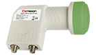 OCTAGON Twin LNB Green HQ OTLG 0.1dB