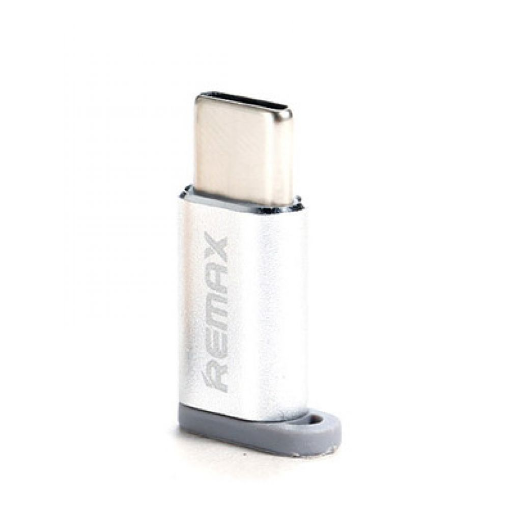 Remax RA-USB1 Adapter Micro USB to USB 3.1 Type-C, Silver - 17158