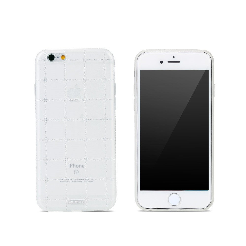 Remax Ice Clear, Protector for iPhone 6/6S Plus , TPU, Slim, White - 51406