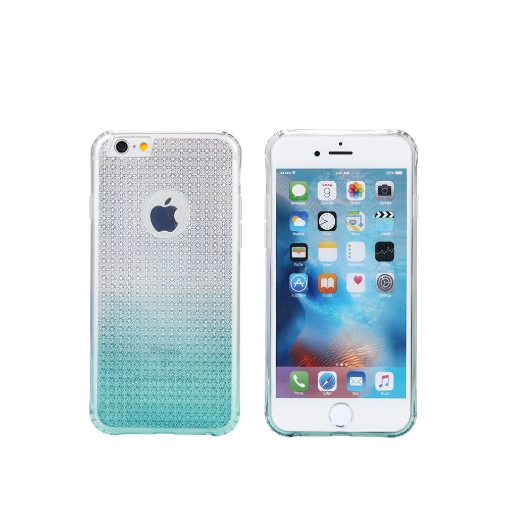 Remax Bright Gradient Protector for iPhone 6/6S Plus, TPU, Slim, Blue - 51410