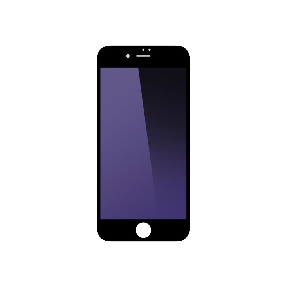 Remax Gener Glass protector Full 3D,Anti-Blu Ray, For iPhone 7/7S, 0,3mm, Black - 52255