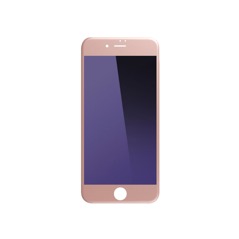 Remax Gener,Tempered Glass protector Full 3D,Anti-Blu Ray, For iPhone 7/8, 0,3mm, Rose gold - 52257