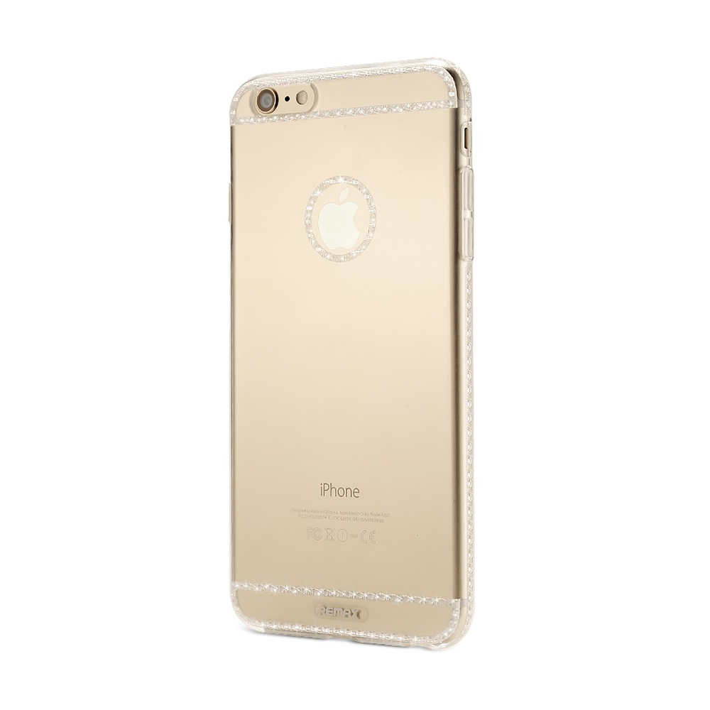 Remax Sunshine, Protector for iPhone 6/6S Plus, Silicone, Slim, Transparent - 51417