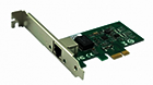 SeaMAX SA-RTL8111T Network Adapter , 10/100/1000Mbps, PCI Express, RJ45 port, RTL8111F based