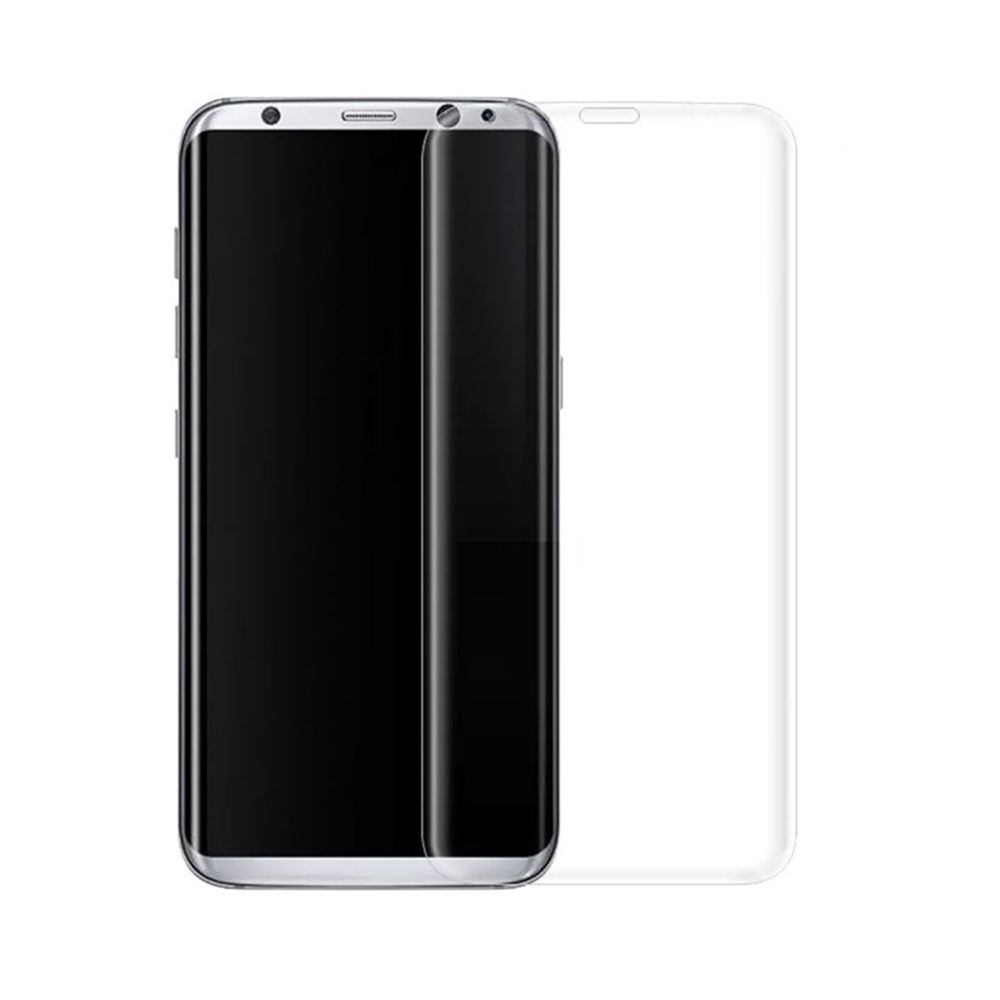 OEM Fullscreen Glass protector For Samsung Galaxy S8 Plus, 0.3mm, White - 52293