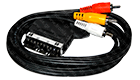 OEM Scart Cable to RCA 1.5m