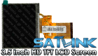 Satlink 3.5 inch HD TFT LCD Screen