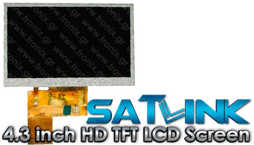 Satlink 4.3 inch HD TFT LCD Screen
