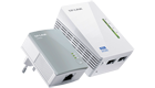 TP-LINK TL-WPA4220KIT v.3 N300 AV500 WiFi Wireless Powerline Extender Twin Pack with TL-PA4010