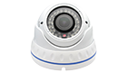VEACAM AHD DOME CAMERA VCDWA4IN10 4IN1(AHD+TVI+CVI+CVBS) 1.0 Megapixel, 720P, 3.6mm(White)