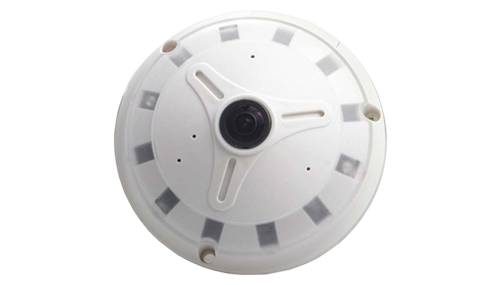 VEACAM IP PANORAMIC DOME CAMERA VCSY13-360, 1.3MP, 960P,1.17mm,10m IR(White)