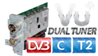 VU+ Dual Tuner DVB-C/T2 (Single Housing) Duo2 / Solo SE V2 / Ultimo / Uno