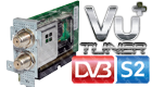 VU+ Uno Ultimo Plug and Play DVB-S/S2 Tuner Module