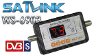 Satlink WS-6903 Portable Digital Display Satellite signal Finder
