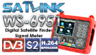 Satlink WS-6951 HD Digital Satellite Signal Finder Meter