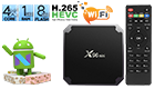 X96 Mini TV Box 1GB RAM + 8GB ROM Amlogic S905W Android 7.1.2 Quad-core Cortex-A53 4K VP9 H.265