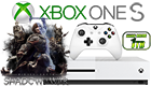 Microsoft Xbox One S 1TB & Middle Earth: Shadow Of War