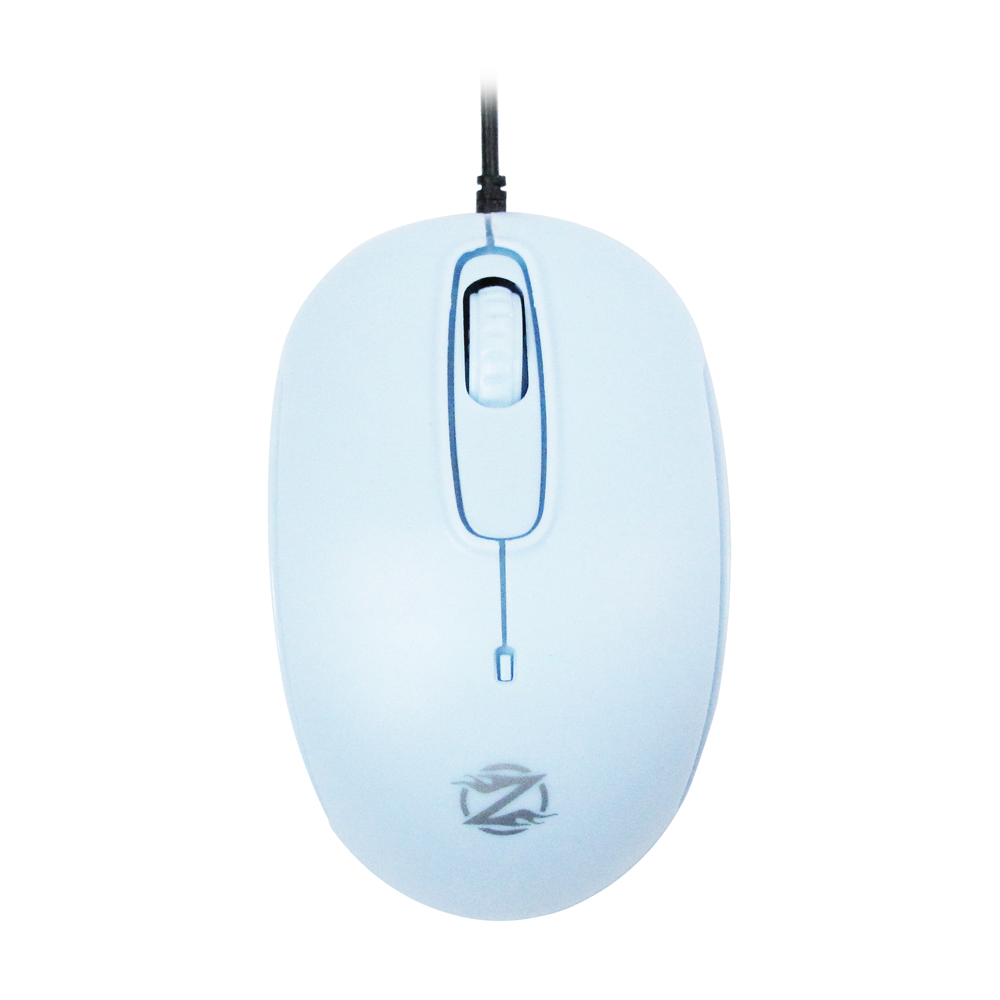 ZornWee S122 Mouse, Optical, Blue - 996