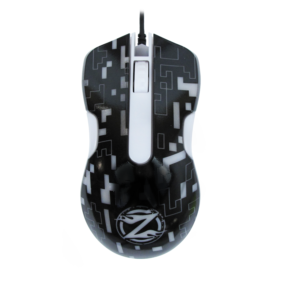 ZornWee WindRunner XG75 Gaming mouse, Optical, Black - 611