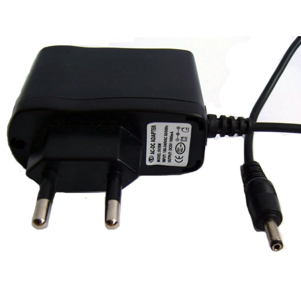 DeTech Laptop Adapter 5V/ 1.0A 5.5*2.5 - 218