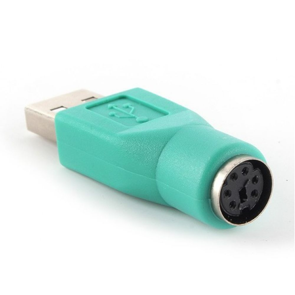DeTech Adapter USB AM to PS2 F - 17132