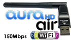 AuraHD W2U-150 AIR WiFi-adapter