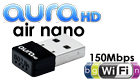 AuraHD WU-150 air nano WiFi-adapter