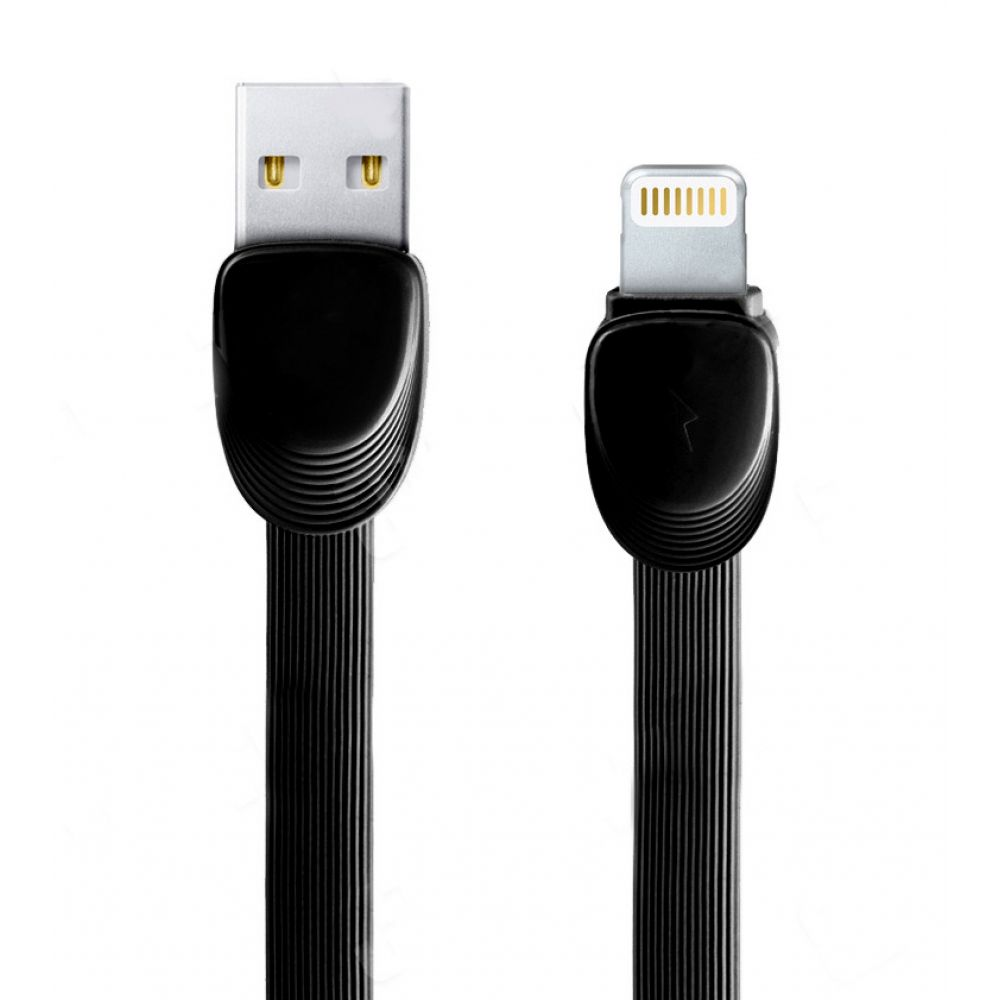 Remax Shell RC-040i,Data cable iPhone Lighting, 1m, Black - 14338
