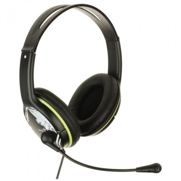 GENIUS HS-400A Multimedia headset Green