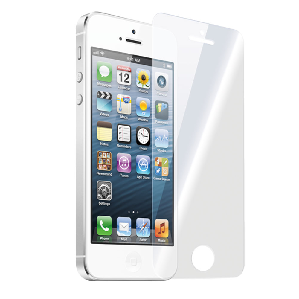 OEM Glass protector tempered glass for iPhone 5/5S, 0.3 mm, Transparent - 52026
