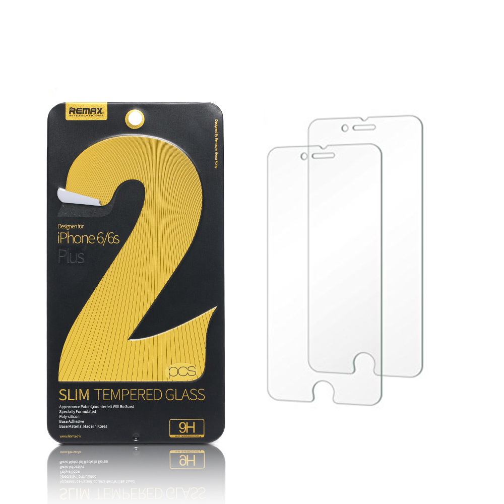 Remax,Tempered Glass protectors for iPhone 6/6S, 2 piece in pack, 3mm - 52220