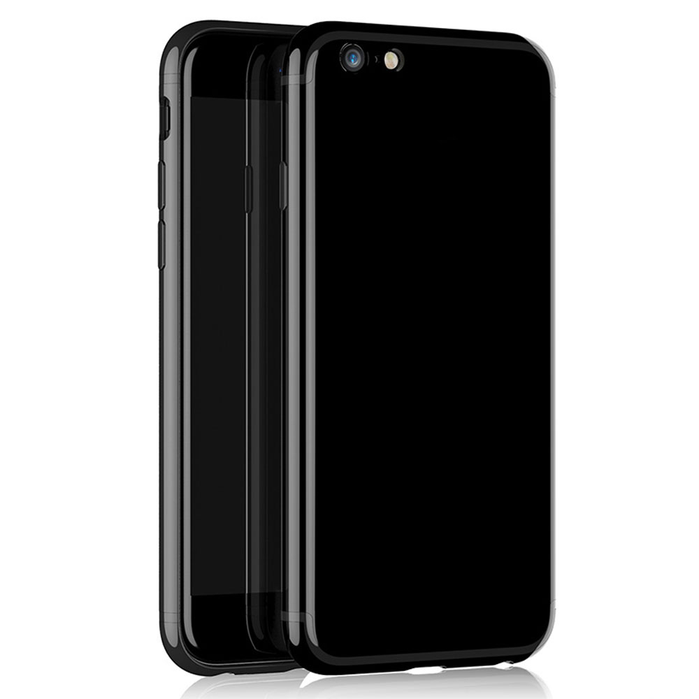 Remax Jet Protector for iPhone 7 Plus, TPU, Jet black - 51476