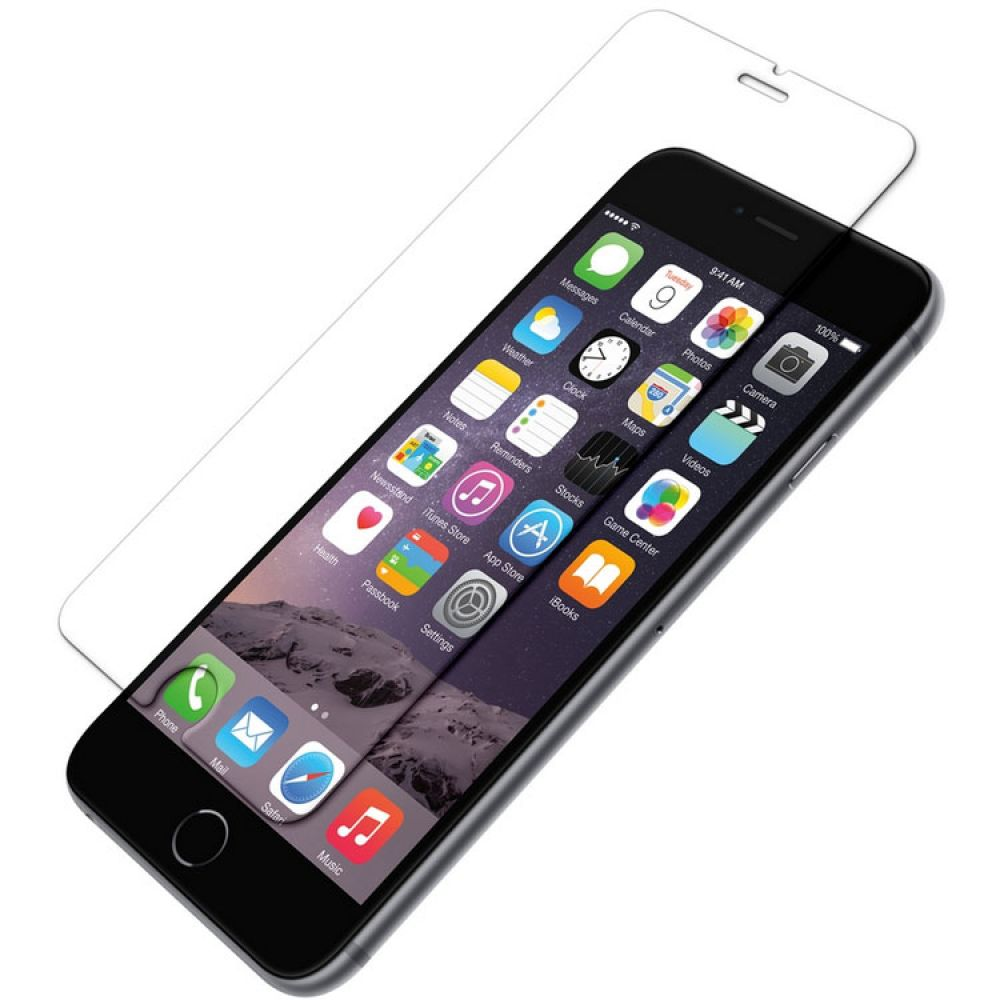 OEM Glass protector tempered glass for iPhone 6/6S Plus, 0.3 mm, Transparent - 52052