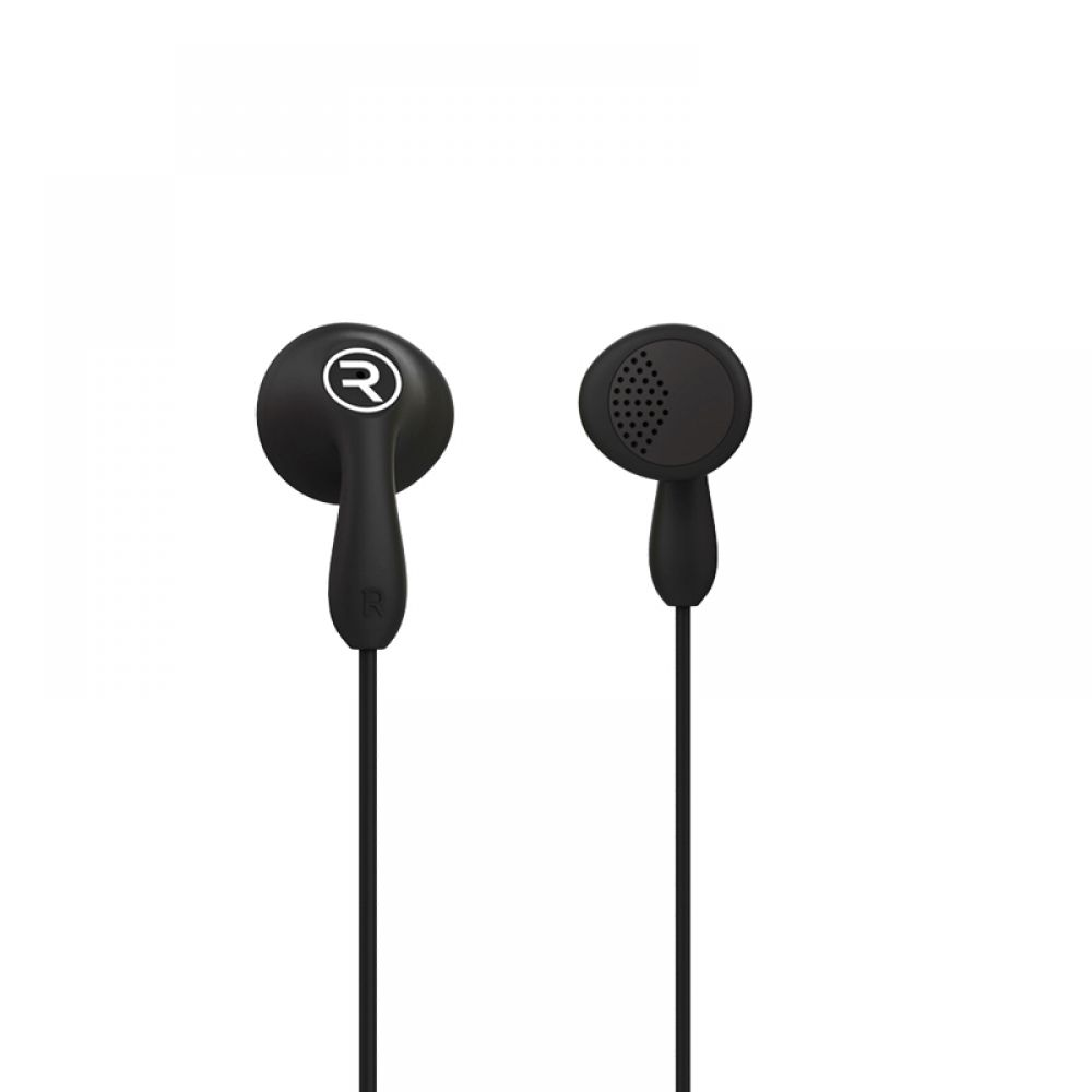 Remax RM-505 Mobile headphones, With microphone, Black - 20312