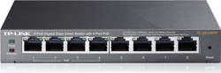TP-Link TL-SG108PE v2.0, 8-Port Gigabit Easy Smart Switch with 4-Port PoE
