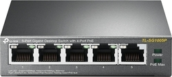 TP-Link TL-SG1005P v1.0, ​5-Port Gigabit Desktop Switch with 4-Port PoE